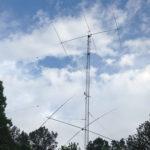 Rohn 55, 40-meter HyGain Discoverer 3-el stack